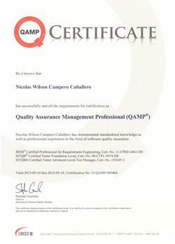 QAMP - Quality Assurance Management Professional