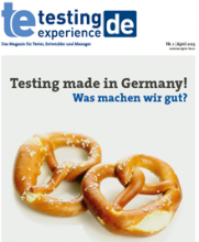 Testing Experience erste deutschsprachige Ausgabe